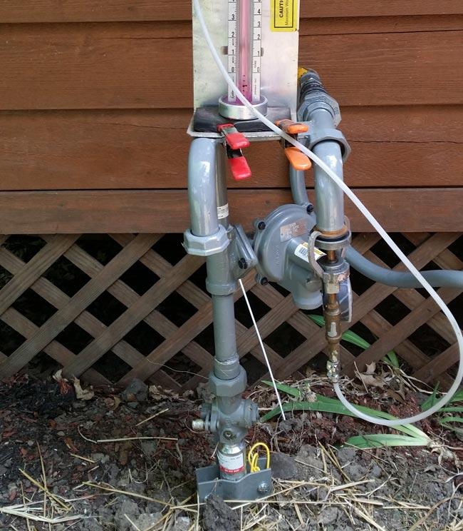 Gas Line Repair in Bay Village