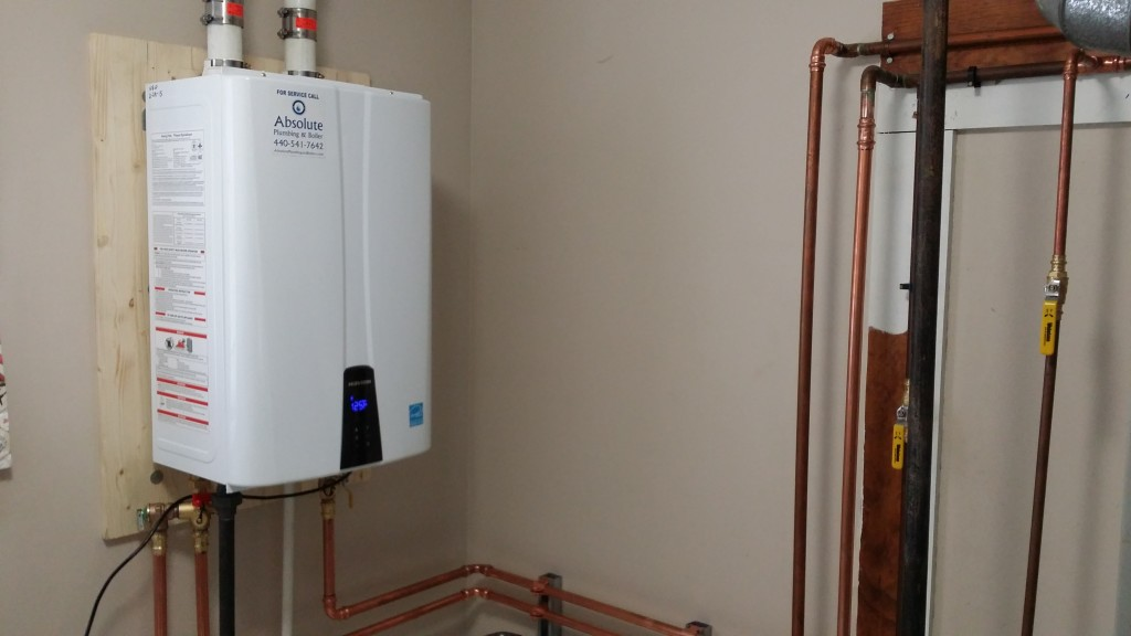 Benefits Of Tankless Water Heaters Absolute Plumbing