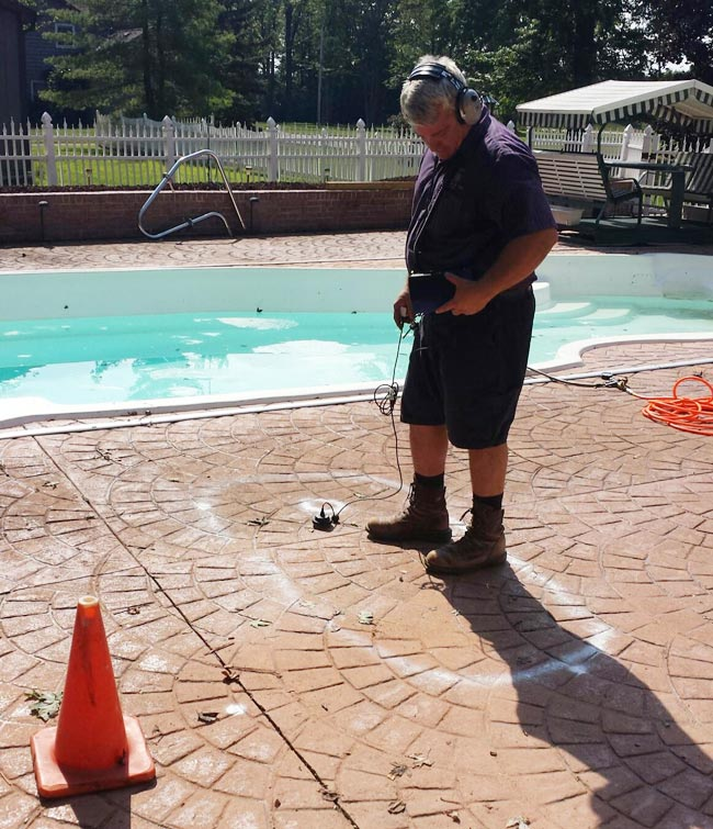 Pool Leak Detection