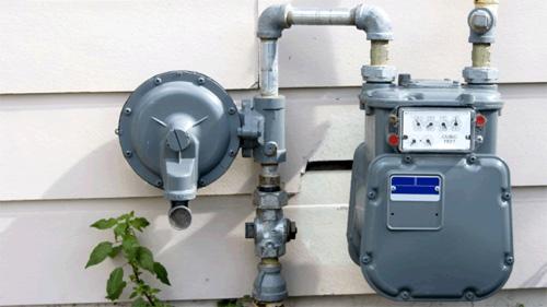 Gas pipe line leak repair and installation