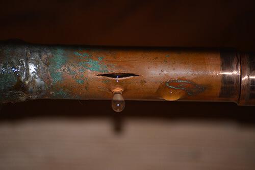 Repair of Frozen & Burst Pipes Plumber